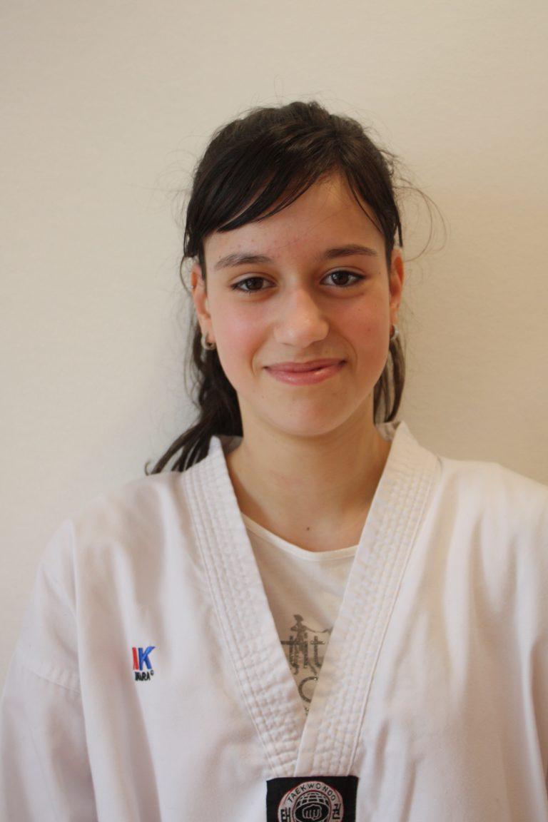 ANDREA GARCÍA, participará coa Selección Galega de Taekwondo
