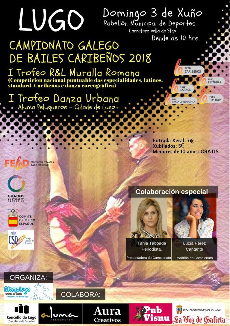 CAMPIONATO GALEGO DE BAILES CARIBEÑOS 2018