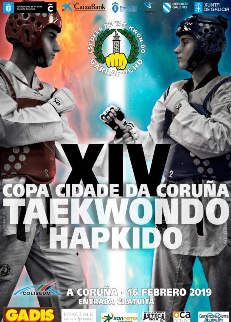 Copa cidade da Coruña- Taekwondo