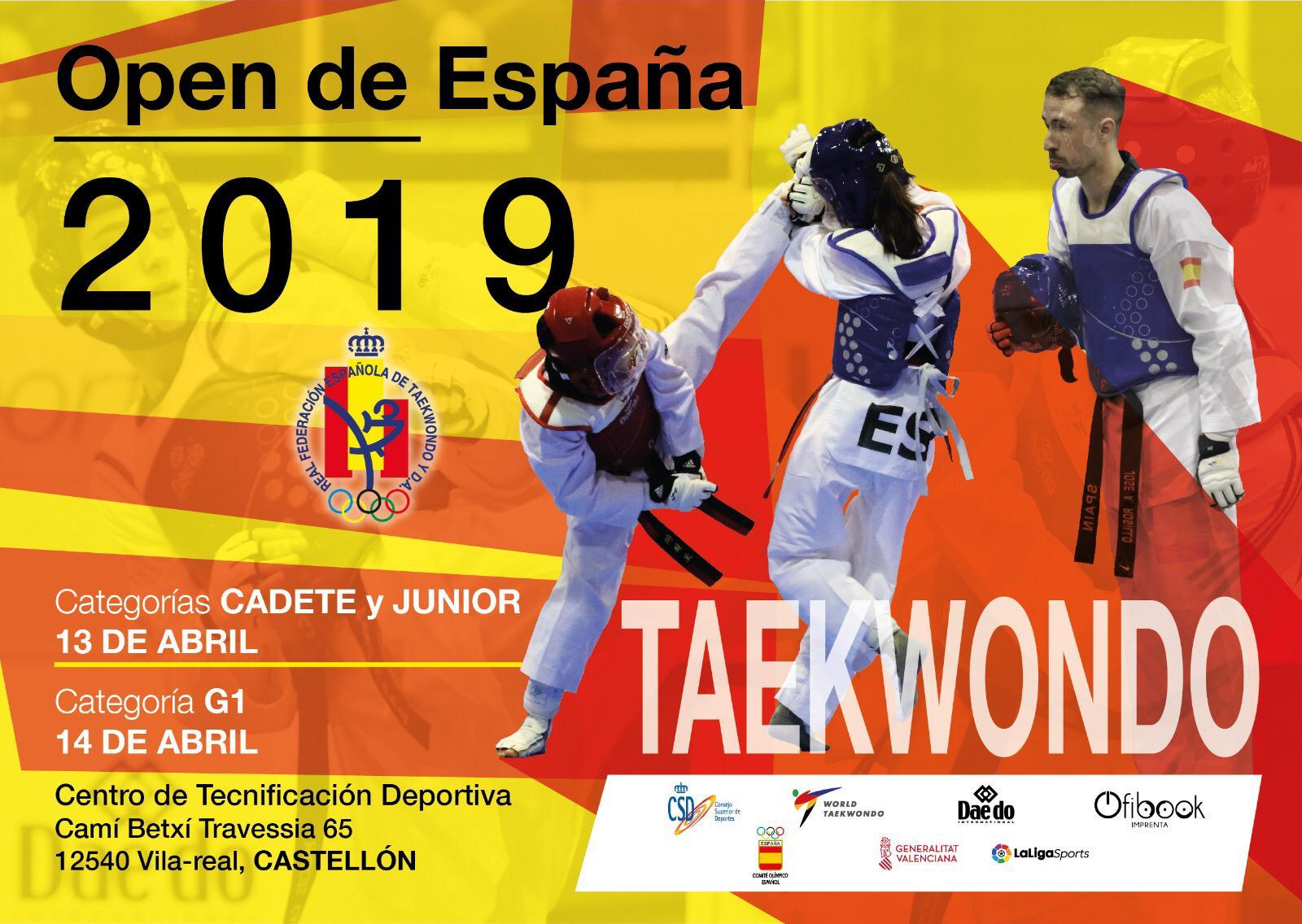 OPEN DE ESPAÑA- Taekwondo
